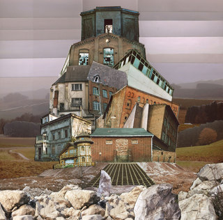 Headquarter 1 (2011) / 40cmx40cm / Photo Collage